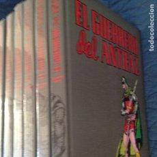Tebeos: EL GUERRERO DEL ANTIFAZ 10 TOMOS,EDICIONES CARBONELL BARTRA S.L. 1997,BARCELONA. Lote 142137286