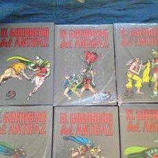 Tebeos: EL GUERRERO DEL ANTIFAZ 10 TOMOS,EDICIONES BRUCH S.A.. 1991 BARCELONA. Lote 142137634