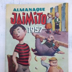 Tebeos: JAIMITO ALMANAQUE 1957 ORIGINAL - MUY, MUY NUEVO - VER IMÁGENES. Lote 142283574