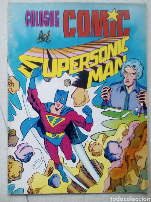 SUPERSONIC MAN. COLECCIÓN COMPLETA OCHO TEBEOS (Tebeos y Comics - Valenciana - Colosos del Comic)