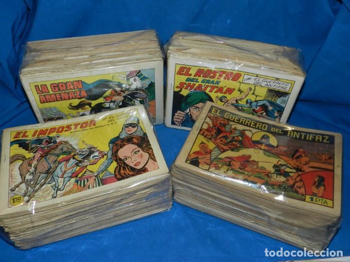 (MF) COLECCION GUERRERO DEL ANTIFAZ , EDT VALENCIANA , A FALTA DE 7 NUM - DEL NUM 1 AL NUM 668 (Tebeos y Comics - Valenciana - Guerrero del Antifaz)