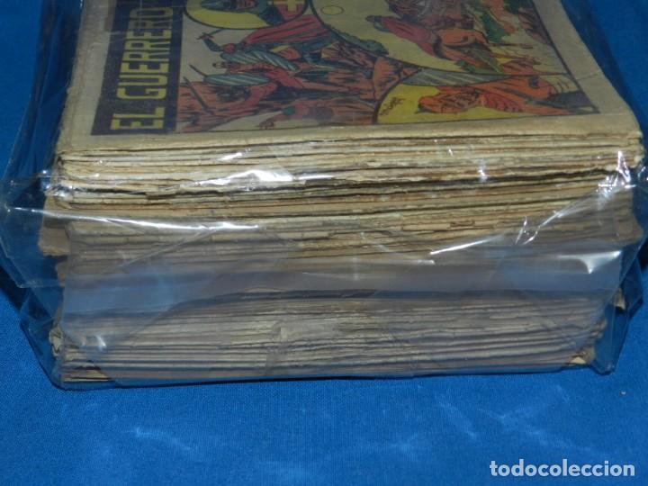 Tebeos: (M3) EL GUERRERO DEL ANTIFAZ - LOTE DE 100 NUMEROS ,DEL NUM 1 AL NUM 100 FALTA EL NUM 56 VALENCIANA - Foto 3 - 142580262