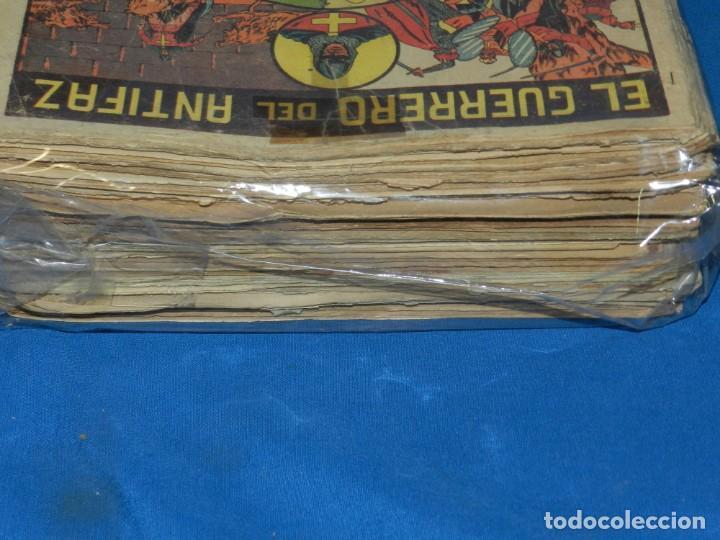 Tebeos: (M3) EL GUERRERO DEL ANTIFAZ - LOTE DE 100 NUMEROS ,DEL NUM 1 AL NUM 100 FALTA EL NUM 56 VALENCIANA - Foto 6 - 142580262
