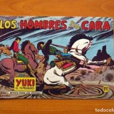 Tebeos: YUKI EL TEMERARIO - LOS HOMBRES SIN CARA, Nº 15 - EDITORIAL VALENCIANA 1958. Lote 142859862