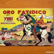 Tebeos: YUKI EL TEMERARIO - ORO FATÍDICO, Nº 21 - EDITORIAL VALENCIANA 1958. Lote 142861010