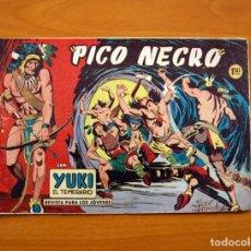 Tebeos: YUKI EL TEMERARIO - PICO NEGRO, Nº 37 - EDITORIAL VALENCIANA 1958. Lote 142876778