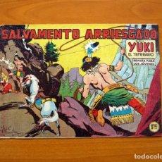 Tebeos: YUKI EL TEMERARIO - SALVAMIENTO ARRIESGADO, Nº 38 - EDITORIAL VALENCIANA 1958. Lote 142876850