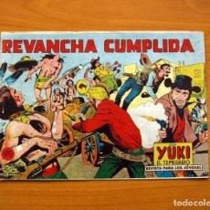 Tebeos: YUKI EL TEMERARIO - REVANCHA CUMPLIDA, Nº 42 - EDITORIAL VALENCIANA 1958. Lote 142879642