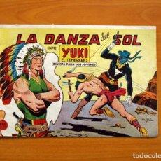 Tebeos: YUKI EL TEMERARIO - LA DANZA DEL SOL, Nº 44 - EDITORIAL VALENCIANA 1958. Lote 147681760