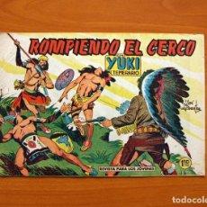 Tebeos: YUKI EL TEMERARIO - ROMPIENDO EL CERCO, Nº 64 - EDITORIAL VALENCIANA 1958. Lote 142882050