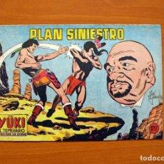 Tebeos: YUKI EL TEMERARIO - PLAN SINIESTRO, Nº 95 - EDITORIAL VALENCIANA 1958 . Lote 142882618
