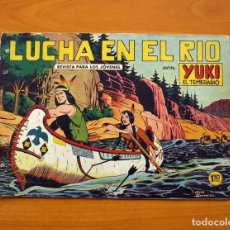 Tebeos: YUKI EL TEMERARIO - LUCHA EN EL RÍO, Nº 11 - EDITORIAL VALENCIANA 1958 . Lote 142883086