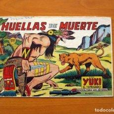 Tebeos: YUKI EL TEMERARIO - HUELLAS DE MUERTE, Nº 46 - EDITORIAL VALENCIANA 1958 . Lote 142884998
