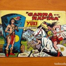 Tebeos: YUKI EL TEMERARIO - GARRA DE RAPIÑA, Nº 47 - EDITORIAL VALENCIANA 1958 . Lote 142885158