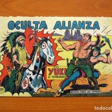 Tebeos: YUKI EL TEMERARIO - OCULTA ALIANZA, Nº 61 - EDITORIAL VALENCIANA 1958 . Lote 142885266