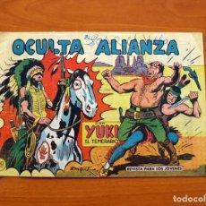 Tebeos: YUKI EL TEMERARIO - OCULTA ALIANZA, Nº 61 - EDITORIAL VALENCIANA 1958 . Lote 142885346