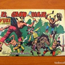 Tebeos: YUKI EL TEMERARIO - EL GRAN VIAJE, Nº 63 - EDITORIAL VALENCIANA 1958 . Lote 142885722