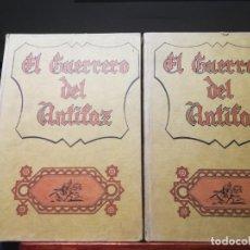 Tebeos: EL GUERRERO DEL ANTIFAZ-EDICION DE 1973-TOMOS II Y III -VALENCIANA. Lote 143080378