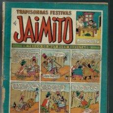 Tebeos: TRAPISONDAS FESTIVAS DE JAIMITO - Nº 81 - VALENCIANA CIRCA 1950 ORIGINAL - PROCEDE DE ENCUADERNACION. Lote 143085582