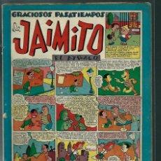 Tebeos: GRACIOSOS PASATIEMPOS DE JAIMITO Nº 83 - VALENCIANA CIRCA 1950 ORIGINAL - PROCEDE DE ENCUADERNACION. Lote 143085930