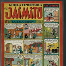 Tebeos: GOTERA HUMORISTICA DE JAIMITO Nº 85 - VALENCIANA CIRCA 1950 ORIGINAL - PROCEDE DE ENCUADERNACION. Lote 143086238