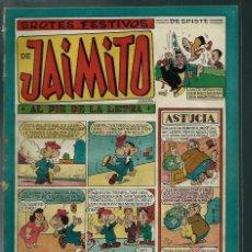 Tebeos: BROTES FESTIVOS DE JAIMITO - Nº 87 - VALENCIANA CIRCA 1950 ORIGINAL - PROCEDE DE ENCUADERNACION. Lote 143086538