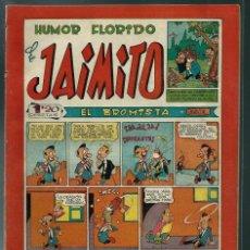 Tebeos: HUMOR FLORIDO DE JAIMITO - Nº 88 - VALENCIANA CIRCA 1950 ORIGINAL - PROCEDE DE ENCUADERNACION. Lote 143086918