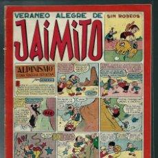 Tebeos: VERANEO ALEGRE DE JAIMITO - Nº 93 - VALENCIANA CIRCA 1950 ORIGINAL - PROCEDE DE ENCUADERNACION. Lote 143087182