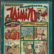 Tebeos: GARABATOS REFRIGERADOS DE JAIMITO Nº 94 - VALENCIANA CIRCA 1950 ORIGINAL - PROCEDE DE ENCUADERNACION. Lote 143087402