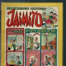 Tebeos: PASATIEMPOS FESTIVOS DE JAIMITO - Nº 96 - VALENCIANA CIRCA 1950 ORIGINAL - PROCEDE DE ENCUADERNACION. Lote 143087594