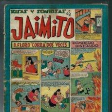 Tebeos: RISAS Y SONRISAS DE JAIMITO Nº 103 - VALENCIANA CIRCA 1950 ORIGINAL - PROCEDE DE ENCUADERNACION. Lote 143088030