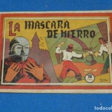 Tebeos: (MC) LA MASCARA DE HIERRO , EDT VALENCIANA , LOMO RESTAURADO. Lote 143147738