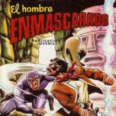 Tebeos: EL HOMBRE ENMASCARADO-COLOSOS DEL CÓMIC-Nº 50 -GRAN JAIME VALLVÉ-1982-CORRECTO-MUY DIFÍCIL-LEAN-9817. Lote 143170405