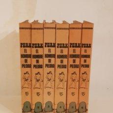 Tebeos: PURK EL HOMBRE DE PIEDRA.COLECCION COMPLETA EN 6 TOMOS.EDITORIAL VALENCIANA.GRAN ESTADO.. Lote 143621866