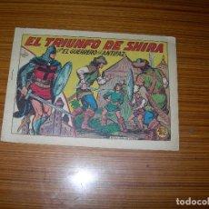 Tebeos: EL GUERRERO DEL ANTIFAZ Nº 293 EDITA VALENCIANA . Lote 143708818
