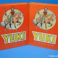 Tebeos: YUKI EL TEMERARIO - ( 2 TOMOS.COMPLETA 22 EJEMPLARES ) AÑO 1976. Lote 143879062
