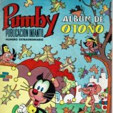 Tebeos: TOMO CON 34 COMIC PUMBY 10 COMIC PULGARCITO 5 COMIC JAIMITO Y 2 COMIC TIO VIVO. Lote 144076354