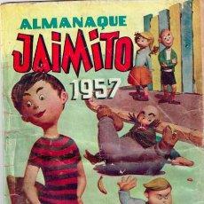 Tebeos: LOTE JAIMITO ALMANAQUE 1957 + Nº 340 + Nº 385 =LOMO ALMANAQUE GASTADO,CONTRAPORTADA 340 FALTA TROCIT. Lote 144589122