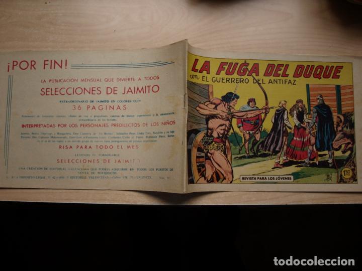 EL GUERRERO DEL ANTIFAZ - NÚMERO 365 - ORIGINAL - VALENCIANA (Tebeos y Comics - Valenciana - Guerrero del Antifaz)