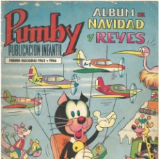 Tebeos: PUMBY ALBUM DE NAVIDAD Y REYES. 1969. ED. VALENCIANA. C-12. Lote 145448986