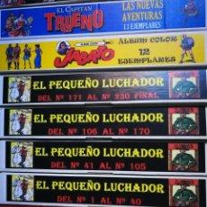 Tebeos: EL PEQUEÑO LUCHADOR. COLECCIÓN COMPLETA 230 TEBEOS - OFERTÓN...........NINGUNA COPIA!!!!!!!!!!!. Lote 155478428