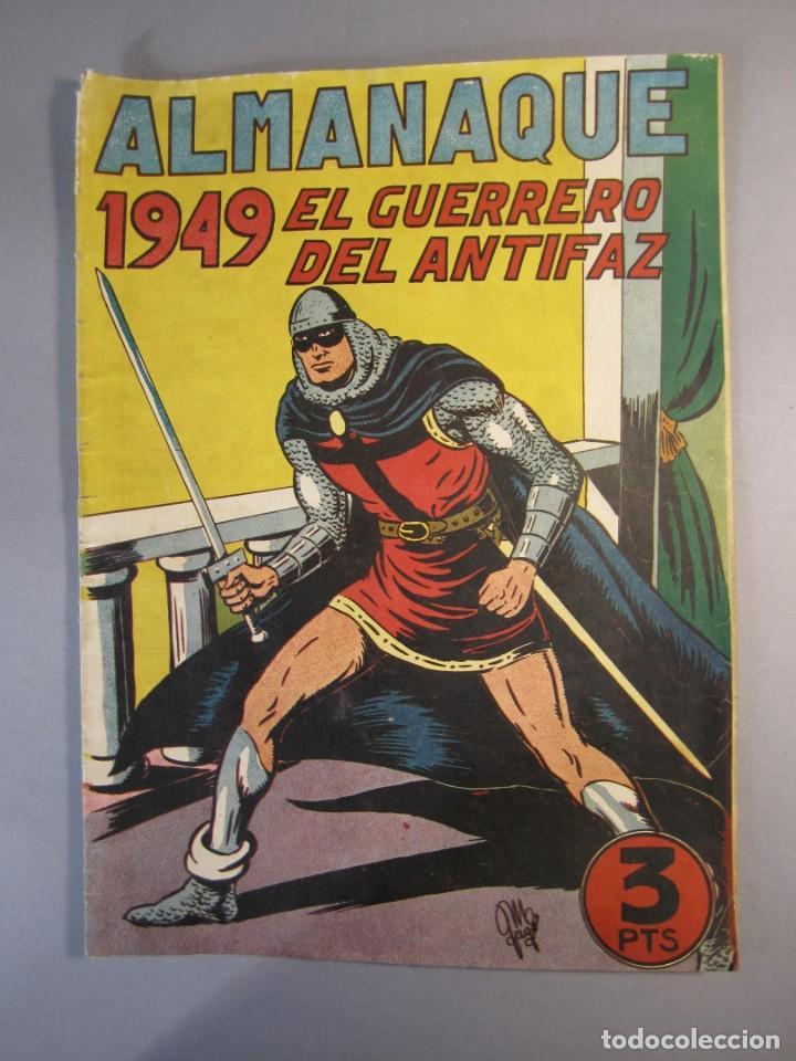 GUERRERO DEL ANTIFAZ, EL (1943, VALENCIANA) EXTRA 4 · XI-1948 · ALMANAQUE 1949 (Tebeos y Comics - Valenciana - Guerrero del Antifaz)