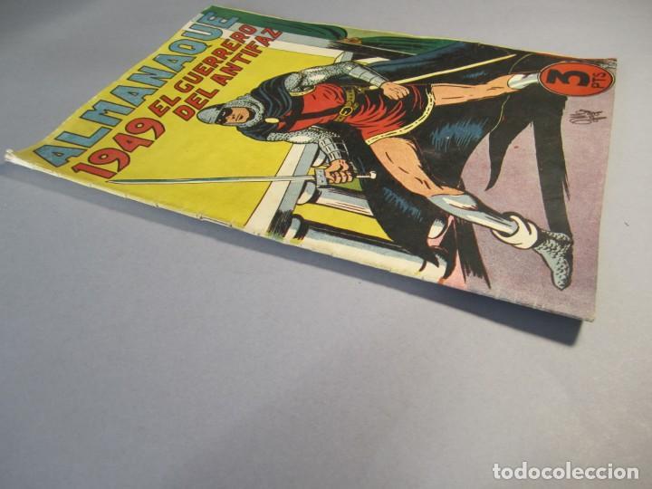Tebeos: GUERRERO DEL ANTIFAZ, EL (1943, VALENCIANA) EXTRA 4 · XI-1948 · ALMANAQUE 1949 - Foto 3 - 145813282
