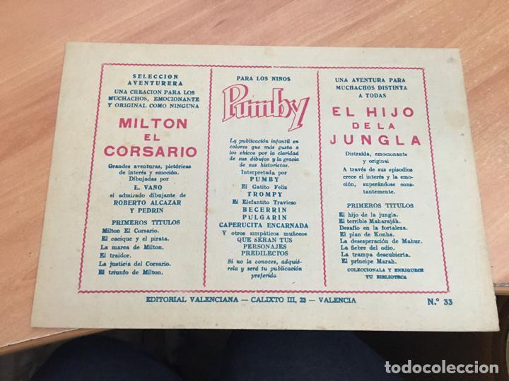 Tebeos: EL HIJO DE LA JUNGLA Nº 33 (ORIGINAL VALENCIANA) (COIM16) - Foto 2 - 145894978