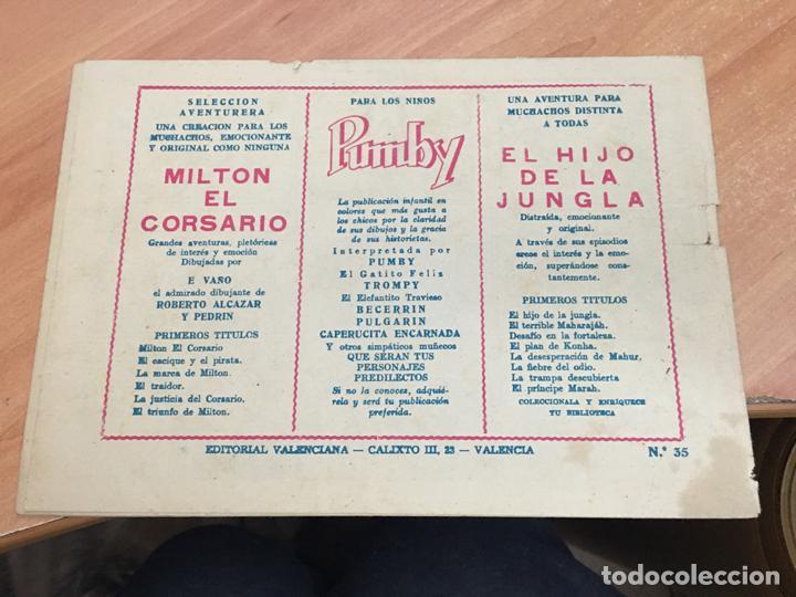 Tebeos: EL HIJO DE LA JUNGLA Nº 35 (ORIGINAL VALENCIANA) (COIM16) - Foto 2 - 145895026