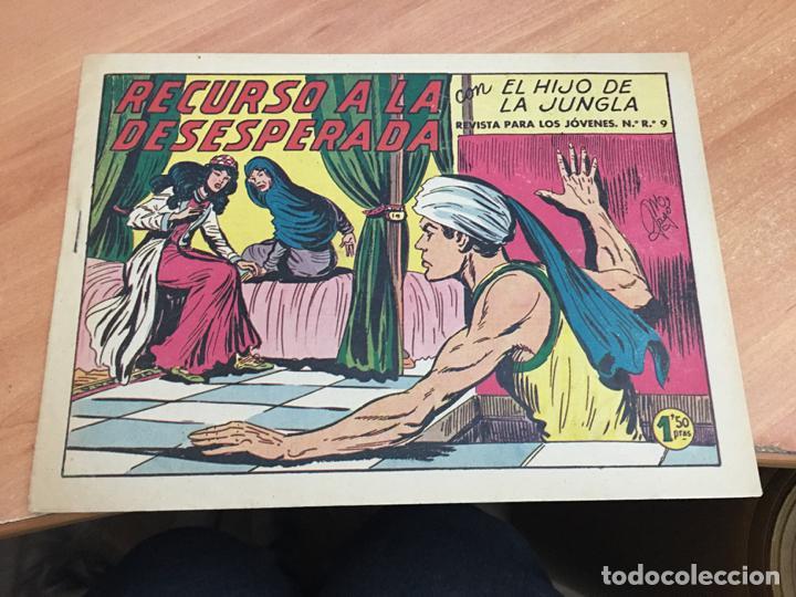 EL HIJO DE LA JUNGLA Nº 37 (ORIGINAL VALENCIANA) (COIM16) (Tebeos y Comics - Valenciana - Hijo de la Jungla)