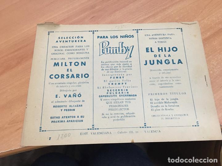 Tebeos: EL HIJO DE LA JUNGLA Nº 7 (ORIGINAL VALENCIANA) (COIM16) - Foto 2 - 145895282