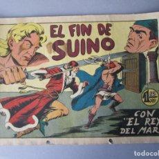 Tebeos: REY DEL MAR, EL (1949, VALENCIANA) 28 · 1948 · EL FIN DE SUINO. Lote 145907282