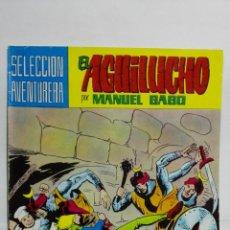 Tebeos: EL AGUILUCHO POR MANUEL GAGO, Nº 24, EVADIDOS. Lote 145946182