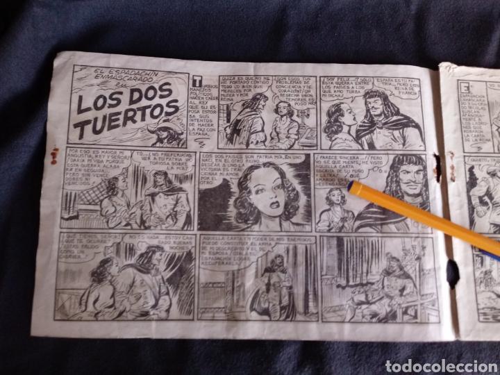 Tebeos: Los dos tuertos con El Espadachín Enmascarado. Original años 50. 1,25 Pts - Foto 3 - 145973024